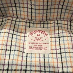 Brooks Brothers - Colorful Plaid Button Up NonIron